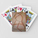Las líneas de domingo baraja cartas de poker