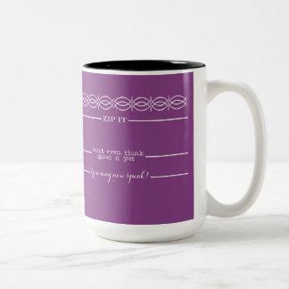 Las líneas de medición del café usted puede ahora taza de dos tonos