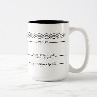 Las líneas de medición del café usted puede ahora taza dos tonos