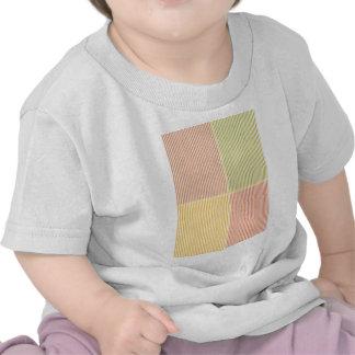 Las LÍNEAS en blanco compra EDITABLE Blanche o aña Camiseta