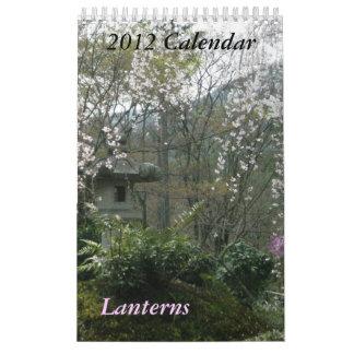 Las linternas hacen calendarios 2012