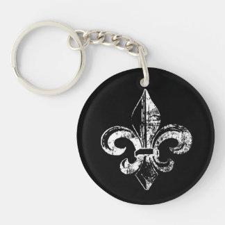 Las llaves de Kingsley al reino Llavero Redondo Acrílico A Doble Cara