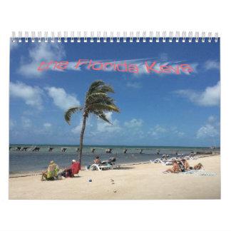 las llaves de la Florida Calendario De Pared