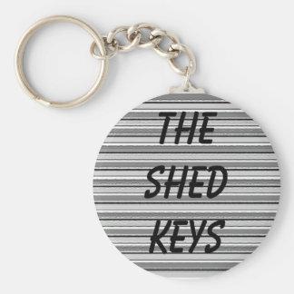 Las llaves de la vertiente llavero redondo tipo pin
