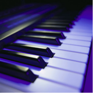Las llaves de teclado esculturas fotográficas