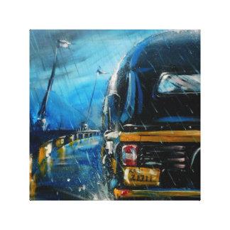 Las lluvias - Smeet K. Gusani Lienzo Envuelto Para Galerías