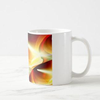 Las luces - ciencia ficción abstracta moderna tazas de café