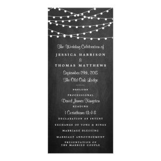 Las luces de la secuencia en la colección del boda tarjetas publicitarias a todo color