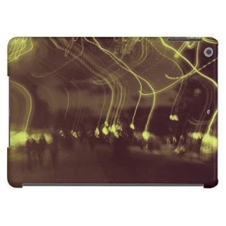 "Las ""luces van a caminar "" funda para iPad air"