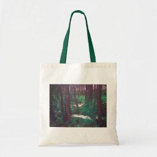 Las maderas de hadas verdes bolsas