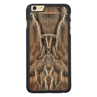 Las maderas funda de arce carved® para iPhone 6 plus slim