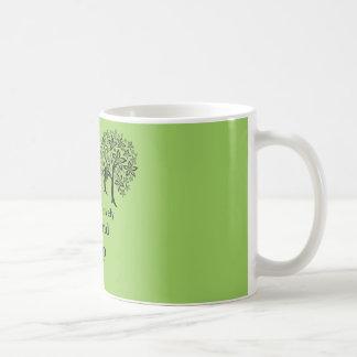 Las maderas son preciosas, oscuras y profundamente taza de café