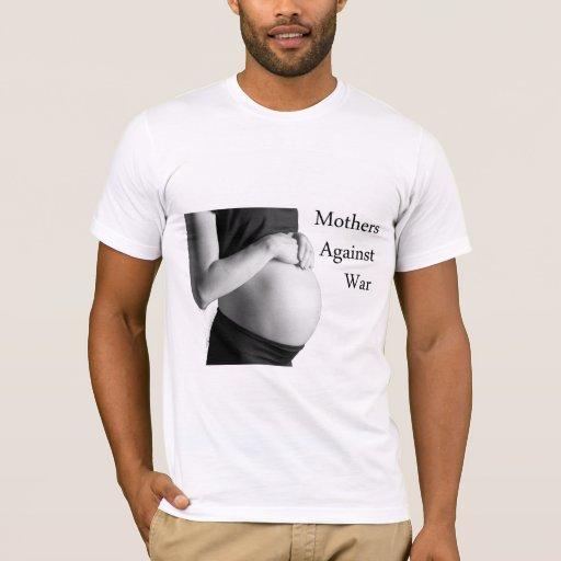 Las madres contra guerra hicieron la camiseta