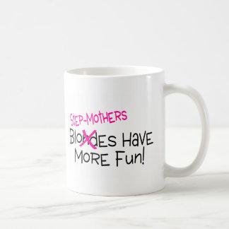 Las madres del paso se divierten más taza de café