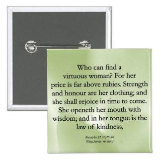 Las madres digno de no pueden ser medidas (proverb pins