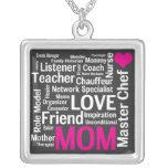 ¡Las madres son amor e inspiración y tanto más! Collar