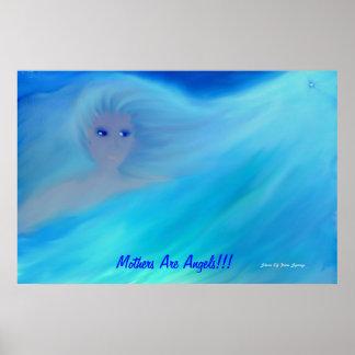 Las madres son poster de los ángeles…