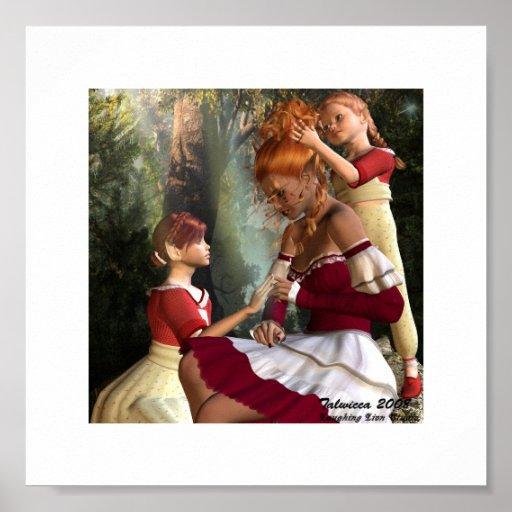 Las madres tratan amor con suavidad poster