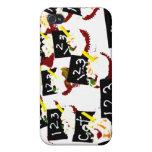 Las magdalenas enseñan el fondo claro iPhone 4 protectores