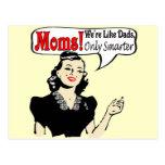 Las mamáes son camisetas y regalos más elegantes p postal