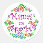 Las MAMÁES son especiales Etiqueta Redonda