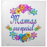 Las mamáes son especiales servilleta imprimida
