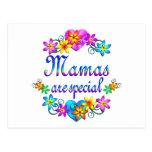 Las mamáes son especiales tarjetas postales