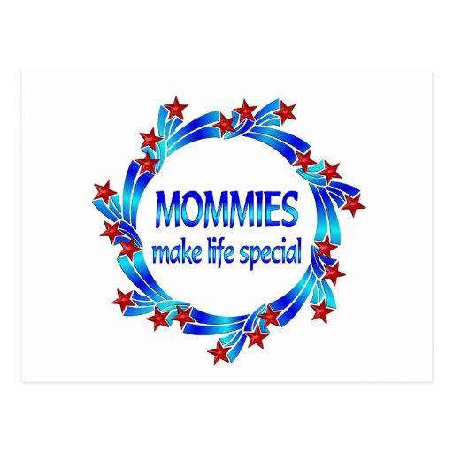 Las mamás hacen el Special de la vida Postal