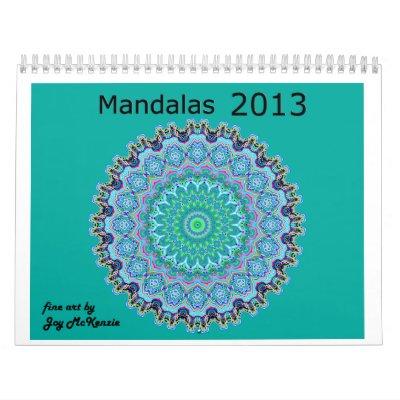 Las mandalas hacen calendarios 2013