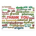Las maneras múltiples de decir le agradecen en muc postal
