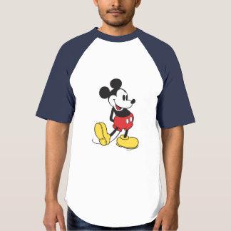 Las manos clásicas de Mickey el   detrás apoyan Playeras