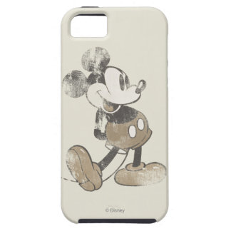 Las manos clásicas del vintage de Mickey el | Funda Para iPhone 5 Tough