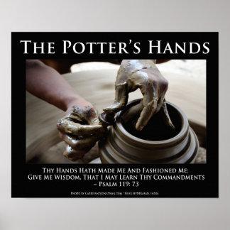 Las manos del alfarero. Cómo dios nos forma Poster