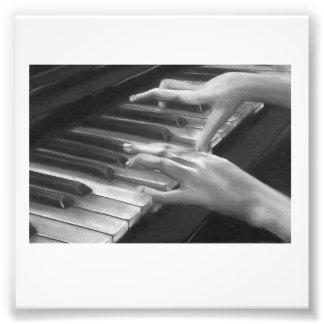 Las manos del piano por Jessika subió Impresion Fotografica