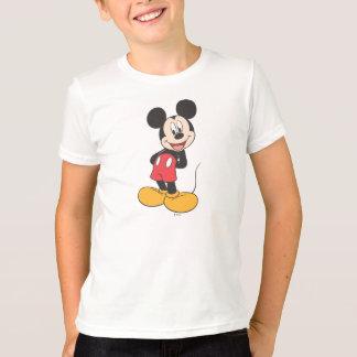 Las manos modernas de Mickey el | detrás apoyan Playera