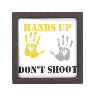 Las MANOS PARA ARRIBA NO HACEN SHOOT.png Caja De Joyas De Calidad