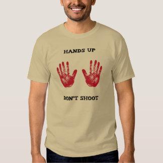 Las manos para arriba no tiran, la solidaridad playera