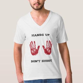 Las manos para arriba no tiran, la solidaridad playeras