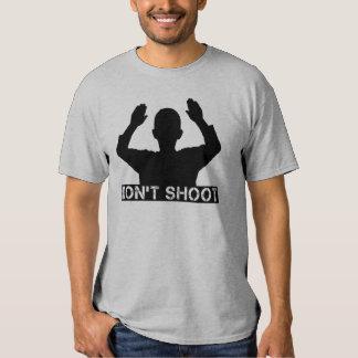 Las manos para arriba - NO TIRE las camisetas Playera