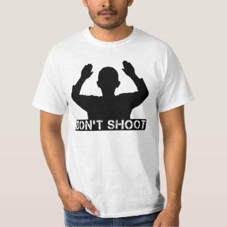 Las manos para arriba - NO TIRE las camisetas Playeras