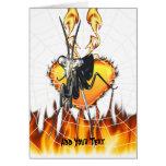 Las mantis religiosas cromadas diseñan 2 con el fu tarjeta