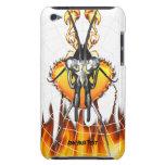 Las mantis religiosas cromadas diseñan 3 con el fu iPod Case-Mate funda