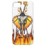 Las mantis religiosas cromadas diseñan 3 con el fu iPhone 5 carcasa