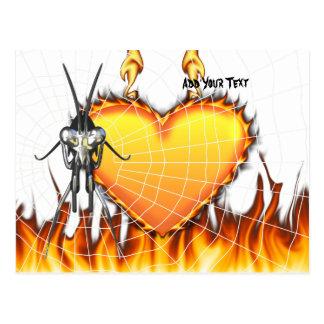 Las mantis religiosas cromadas diseñan 3 con el fu postal