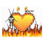 Las mantis religiosas cromadas diseñan 3 con el postal