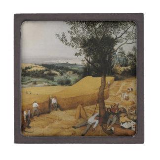 Las máquinas segadores de Pieter Bruegel la Caja De Regalo De Calidad