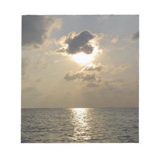 Las maravillas de dios - puesta del sol bloc