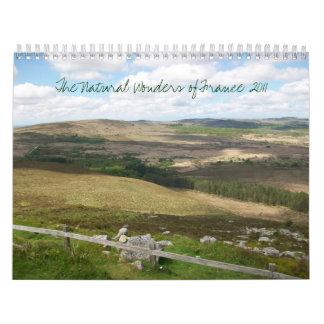 Las maravillas naturales de Francia 2011 Calendarios