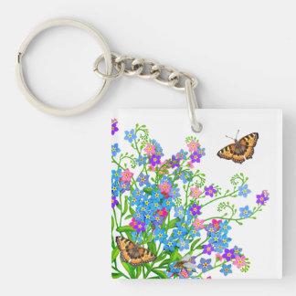 Las mariposas adentro me olvidan no llavero de las