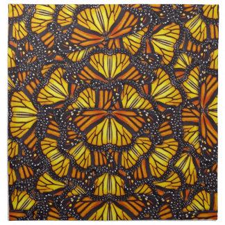 Las mariposas de Effie Servilletas Imprimidas